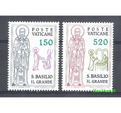Watykan 1979 Mi 743-744 Czyste **