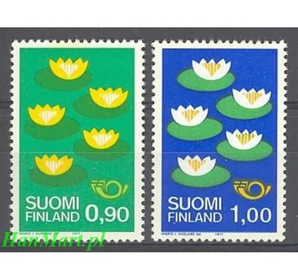 Finlandia 1977 Mi 803-804 Czyste **