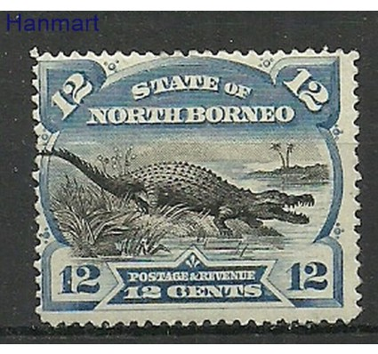 Znaczek Borneo / North Borneo 1894 Mi 55 Z podlepką *