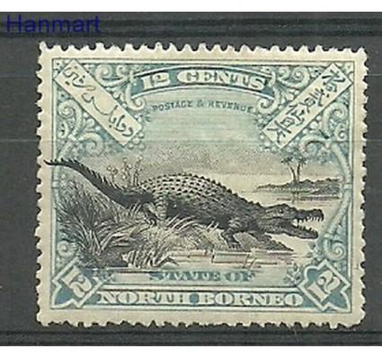 Znaczek Borneo / North Borneo 1897 Mi 75 Z podlepką *
