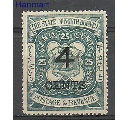 Znaczek Borneo / North Borneo 1899 Mi 86 Z podlepką *