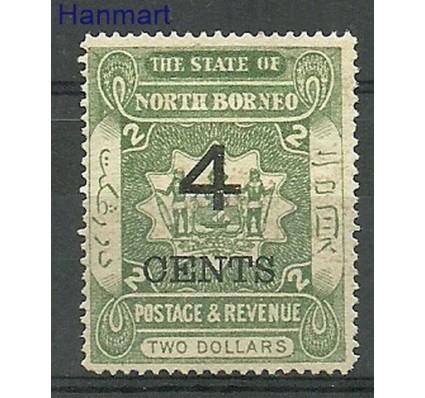 Znaczek Borneo / North Borneo 1899 Mi 89 Z podlepką *