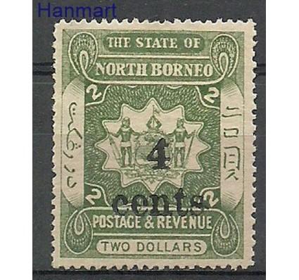Znaczek Borneo / North Borneo 1904 Mi 120 Z podlepką *