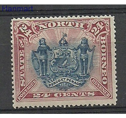 Znaczek Borneo / North Borneo 1894 Mi 57 Czyste **