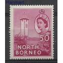 Borneo / North Borneo 1956 Mi 304 Czyste **