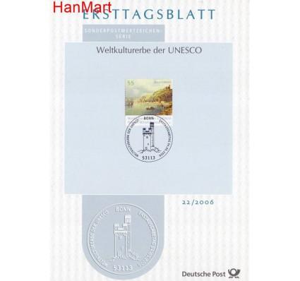 Znaczek Niemcy 2006 Pierwszy dzień wydania