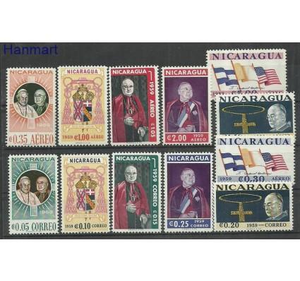 Znaczek Nikaragua 1959 Mi 1220-1231 Czyste **