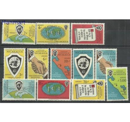 Znaczek Nikaragua 1961 Mi 1280-1291 Czyste **