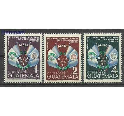 Znaczek Gwatemala 1954 Mi 561-563 Czyste **