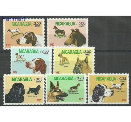 Nikaragua 1982 Mi 2246-2252 Czyste **