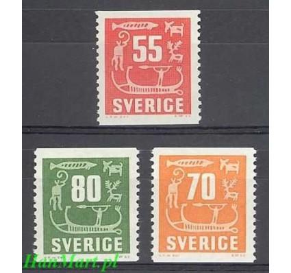 Szwecja 1957 Mi 431-433 Czyste **