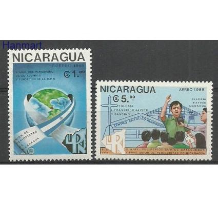 Znaczek Nikaragua 1988 Mi 2851-2852 Czyste **
