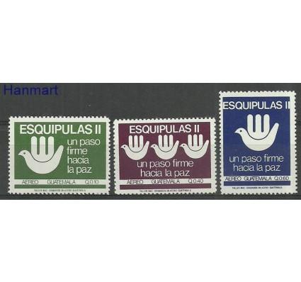 Znaczek Gwatemala 1988 Mi 1295-1297 Czyste **