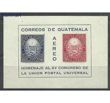 Znaczek Gwatemala 1964 Mi bl7 Czyste **