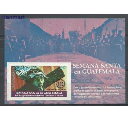 Znaczek Gwatemala 1977 Mi bl24 Czyste **