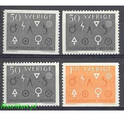 Szwecja 1963 Mi 506a,dl,dr-507a Czyste **