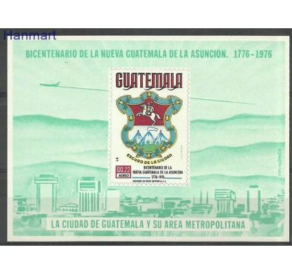 Znaczek Gwatemala 1977 Mi bl26 Czyste **
