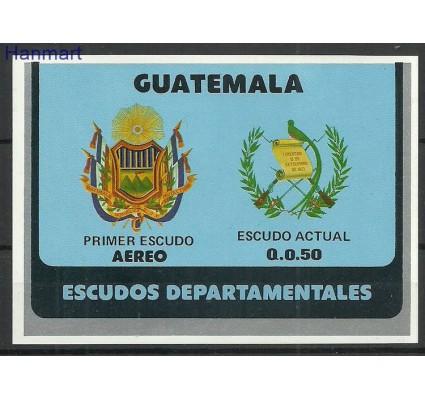 Znaczek Gwatemala 1979 Mi bl31 Czyste **