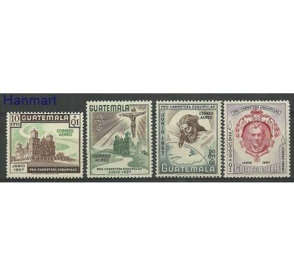 Znaczek Gwatemala 1957 Mi 607-610 Czyste **