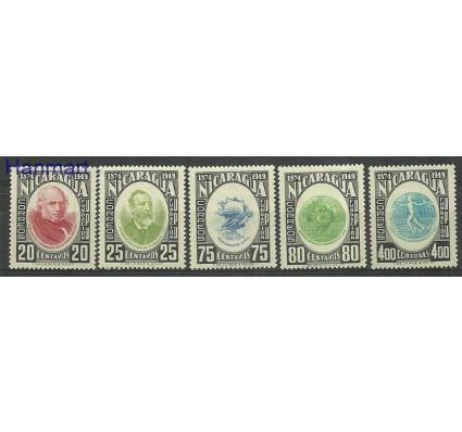 Znaczek Nikaragua 1950 Mi 1010-1014 Czyste **