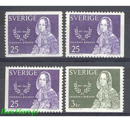 Szwecja 1965 Mi 540a,dl,dr-541a Czyste **