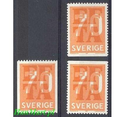 Szwecja 1967 Mi 573c,do,du Czyste **