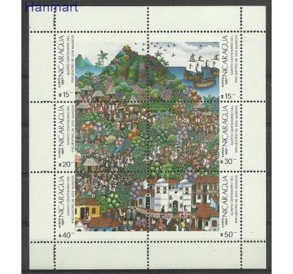 Znaczek Nikaragua 1987 Mi ark2823-2828 Czyste **