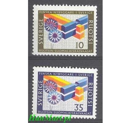 Znaczek Szwecja 1967 Mi 584-585 Czyste **