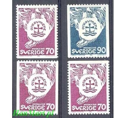 Znaczek Szwecja 1968 Mi 612,c,do,du-613c Czyste **