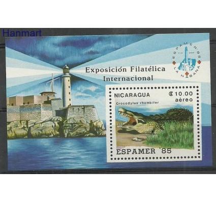 Znaczek Nikaragua 1985 Mi bl164 Czyste **