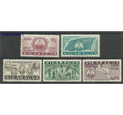 Znaczek Nikaragua 1953 Mi 1037-1041 Czyste **
