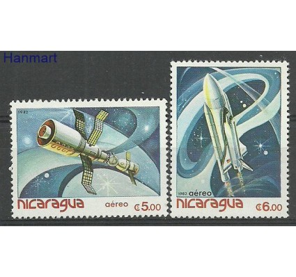 Nikaragua 1982 Mi 2266-2267 Czyste **