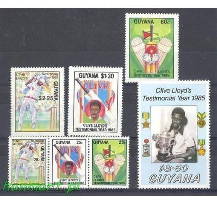 Gujana 1985 Mi 1505-1511 Czyste **