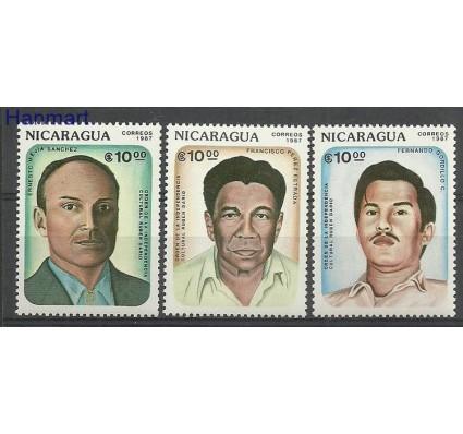 Znaczek Nikaragua 1987 Mi 2732-2734 Czyste **