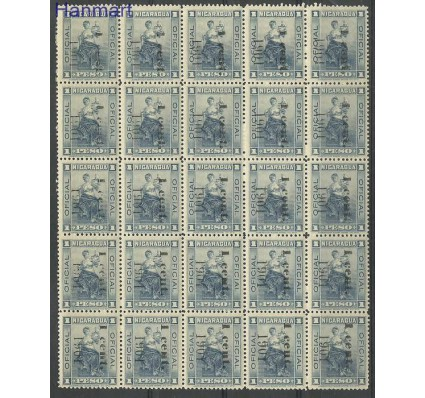 Nikaragua 1901 Mi dieark118 Czyste **
