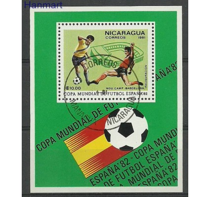 Znaczek Nikaragua 1981 Mi bl138 Stemplowane