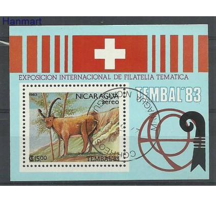 Znaczek Nikaragua 1983 Mi bl149 Stemplowane