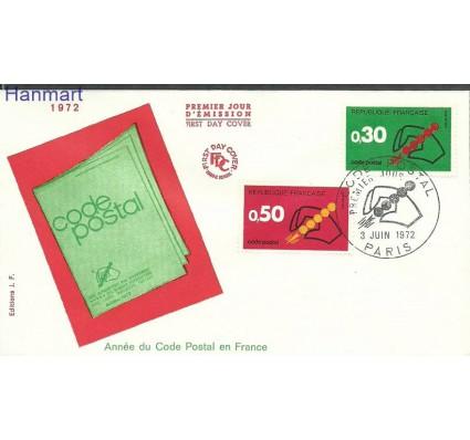 Znaczek Francja 1972 Mi 1795-1796 FDC