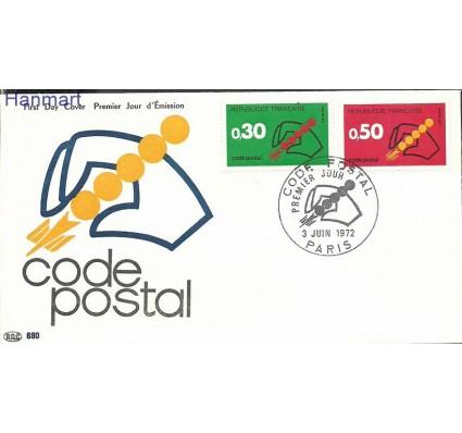 Znaczek Francja 1972 Mi 1795-1796b FDC