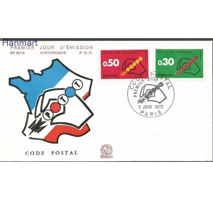 Francja 1972 Mi 1795-1796c FDC