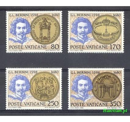 Znaczek Watykan 1980 Mi 771-774 Czyste **