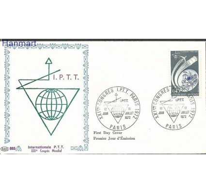 Francja 1972 Mi 1801b FDC