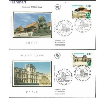 Francja 1998 Mi S3322-3323 FDC