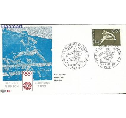 Znaczek Francja 1972 Mi 1802b FDC