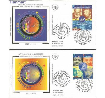 Francja 1998 Mi S3351-3352 FDC