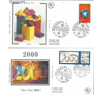 Francja 1999 Mi S3431-3432 FDC