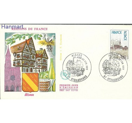Znaczek Francja 1977 Mi 2015 FDC