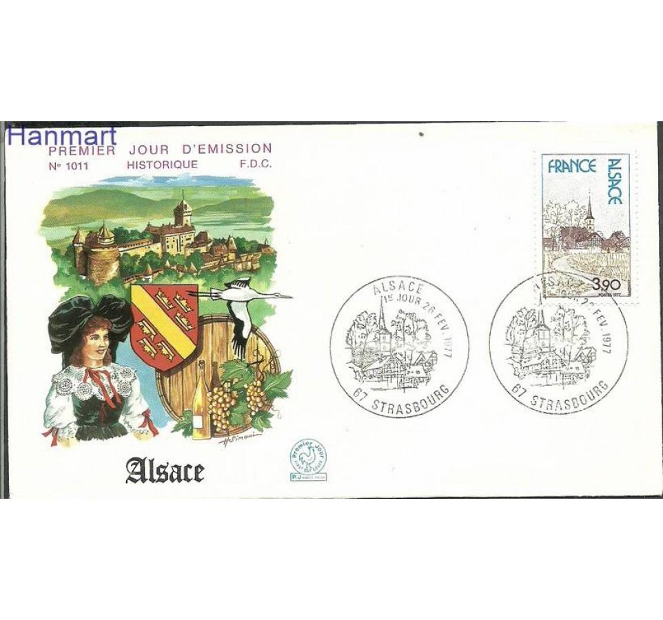 Francja 1977 Mi 2015 FDC
