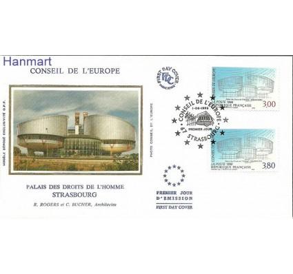 Francja 1996 Mi Sdie53-54 FDC