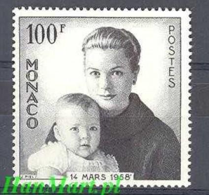 Monako 1958 Mi 587 Czyste **